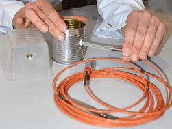 Sonde de température filaire